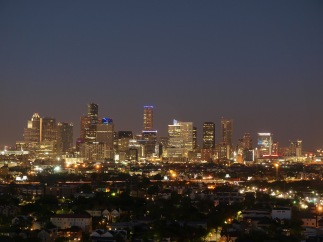 Houston Evening Skyline