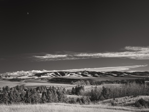 Moonrise, Harbert, Washington
