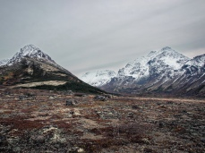 The Wedge and Ptarmigan Peak - Chugach front range